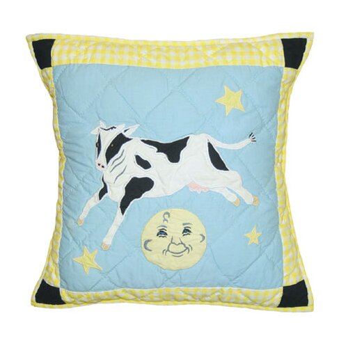 Patch Magic Hey Diddle Diddle Toss Pillow