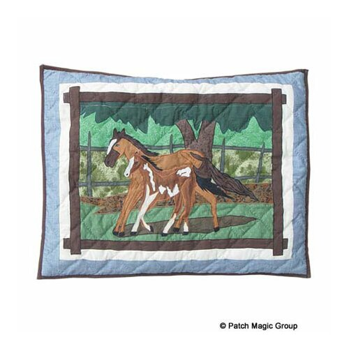 Horse Friends Pillow Sham