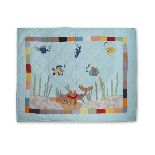 Kids Aquarium Pillow Sham
