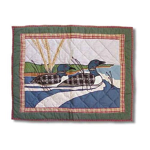 Patch Magic Loon Pillow Sham