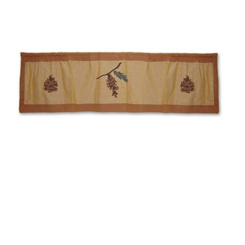 "Patch Magic Pinecone 54"" Curtain Valance"