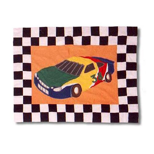 Patch Magic Racecar Pillow Sham