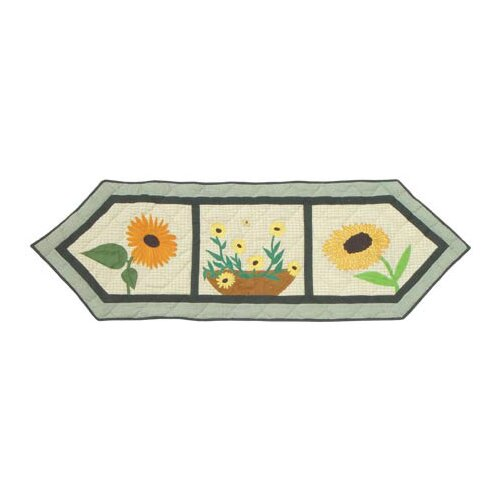 Patch Magic Yellow Field Table Runner
