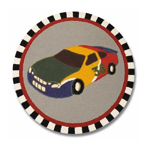 Patch Magic Racecar Kids Rug