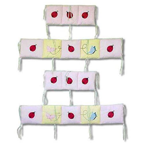 Ladybug 4 Piece Bumper Pad Set