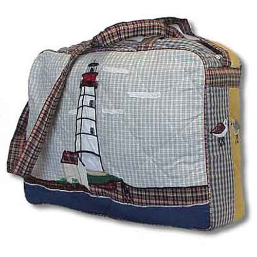 Patch Magic Lighthouse by Bay Shoulder Bag