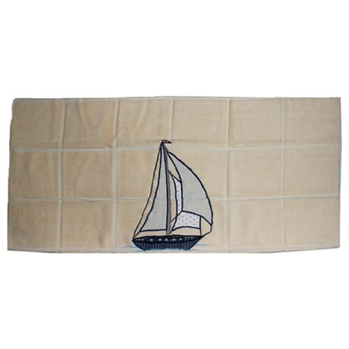 Patch Magic Ocean View Nautical Bath Mat