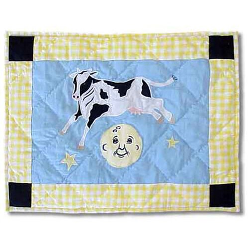 Patch Magic Hey Diddle Diddle Cotton Crib Toss Pillow