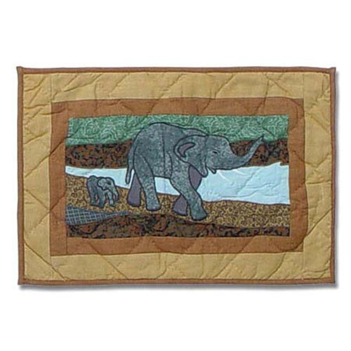 Patch Magic Safari Cotton Crib Toss Pillow