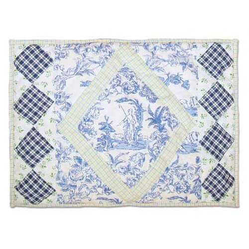 Somerset Cottage Cotton Crib Toss Pillow