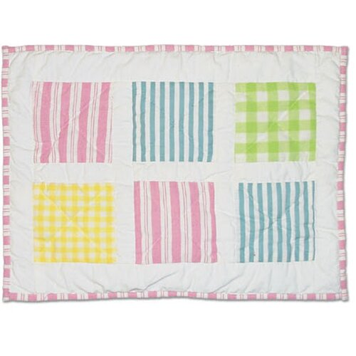 Springworks Cotton Crib Toss Pillow