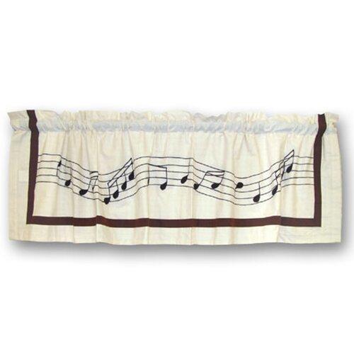 "Patch Magic Music 54"" Curtain Valance"