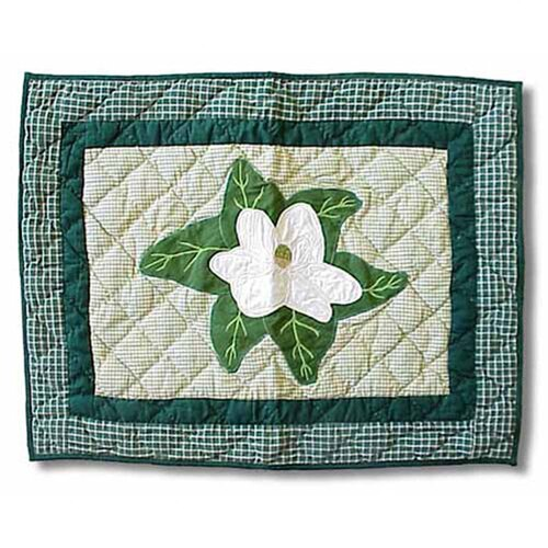 Patch Magic Magnolia Blossoms Pillow Sham