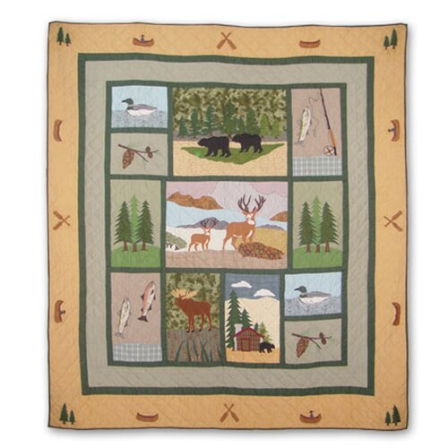 Patch Magic Lodge Fever Quilt