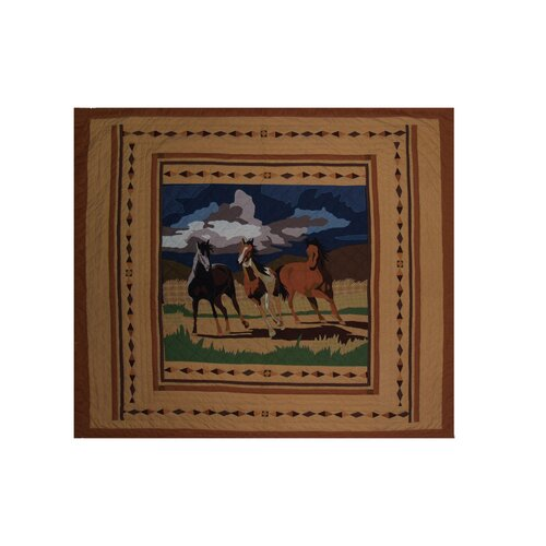 Patch Magic Wild Horses Luxury Quilt