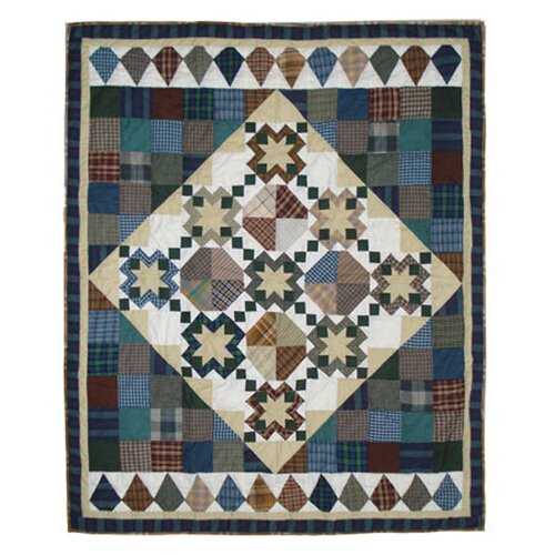 Patch Magic Pioneer Diamond Cotton Throw