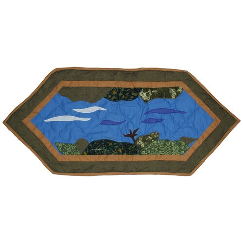 Patch Magic Fly Fishing Table Runner