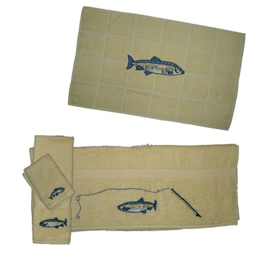 Patch Magic Gone Fishing Towel Set