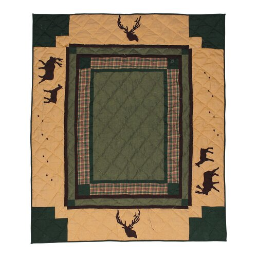 Patch Magic Elk Trail Cotton Throw