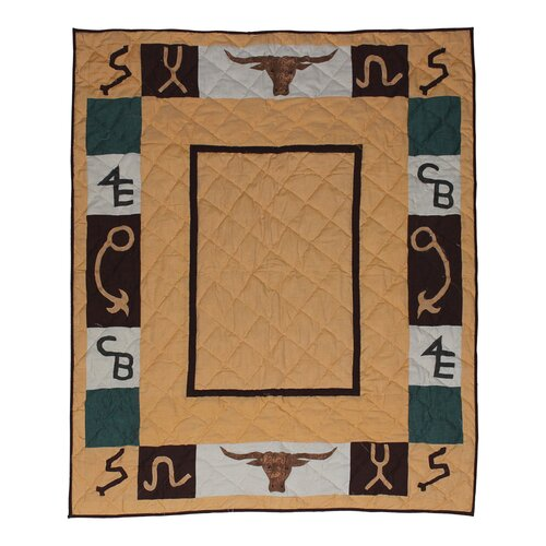 Ranch Trail Cotton Throw