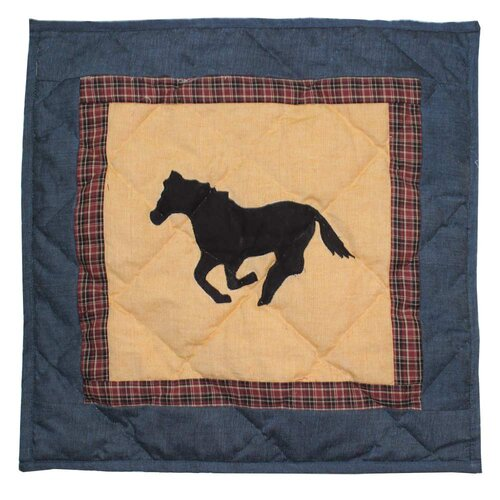 Wild Horse Trail Cotton Pillow