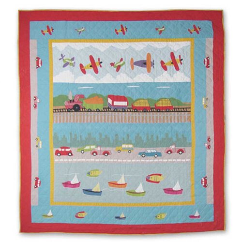 Patch Magic Junior Travel Cotton Quilt