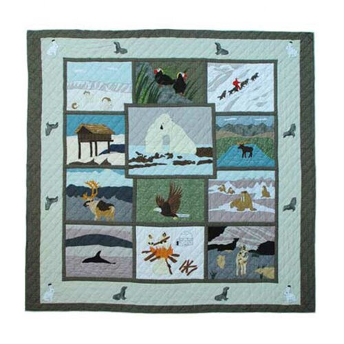 Patch Magic Artic Queen Quilt