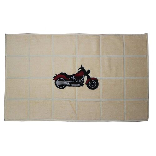 Patch Magic Motorcycle Bath Mat