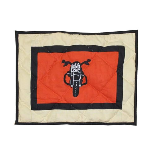 Motor Cycle Cotton Crib Pillow