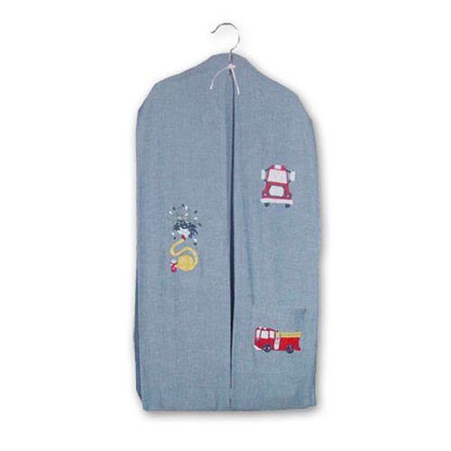 Patch Magic Fire Truck Cotton Diaper Stacker
