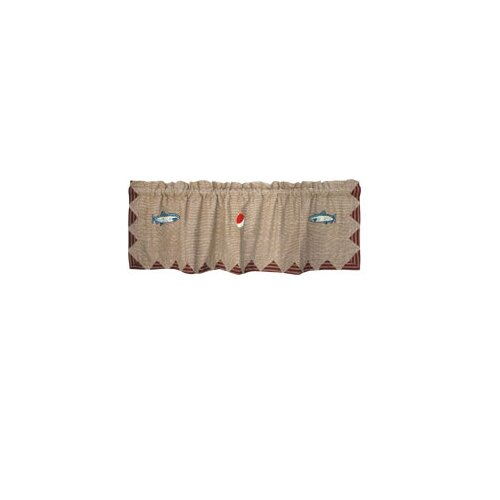 "Patch Magic Gone Fishing 54"" Curtain Valance"