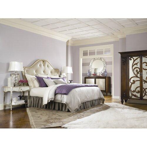 American Drew Jessica McClintock Home Upholstered Headboard