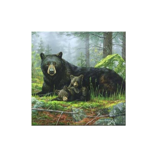 Tuftop Black Bears Trivet