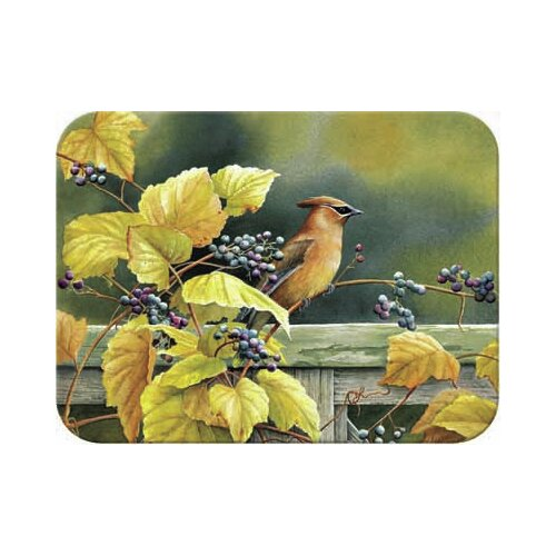 Tuftop Cedar Waxwing Cutting Board