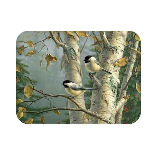 McGowan Tuftop Chickadees Cutting Board