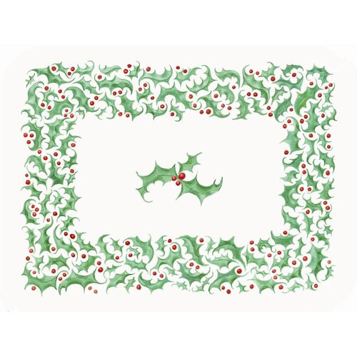 McGowan 1 Snowman Trio & 1 Holly Border