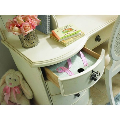"Lea Industries Emma's Treasures 54"" W Computer Desk with Six Utility Drawers"