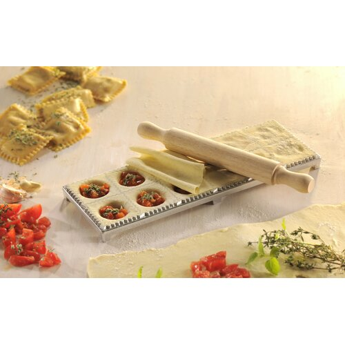 Gefu by Unimet 3-Piece Ravioli Pasta Case Maker