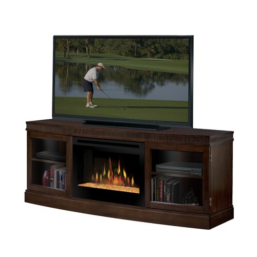 "Dimplex Wickford 54"" TV Stand with Electric Fireplace"