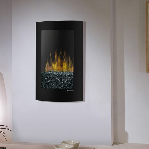 Electraflame Convex Wall Mount Electric Fireplace