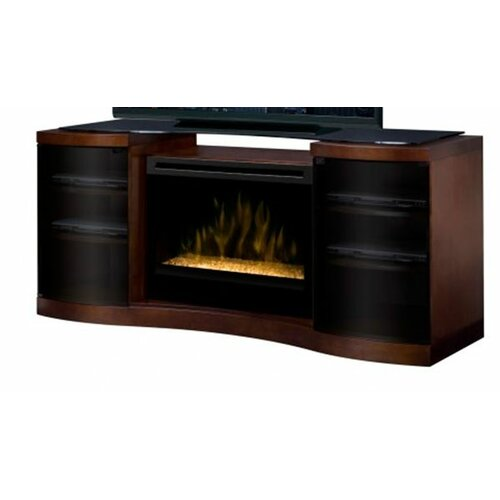 """Dimplex Acton 73"""" TV Stand with Electric Fireplace"""