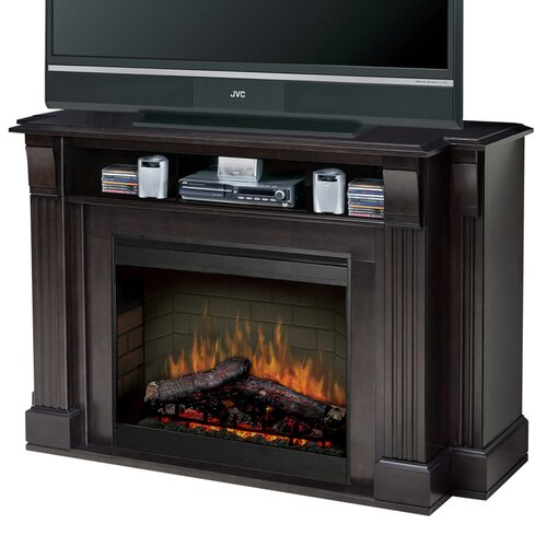 dimplex langley 55 quot tv stand with electric fireplace