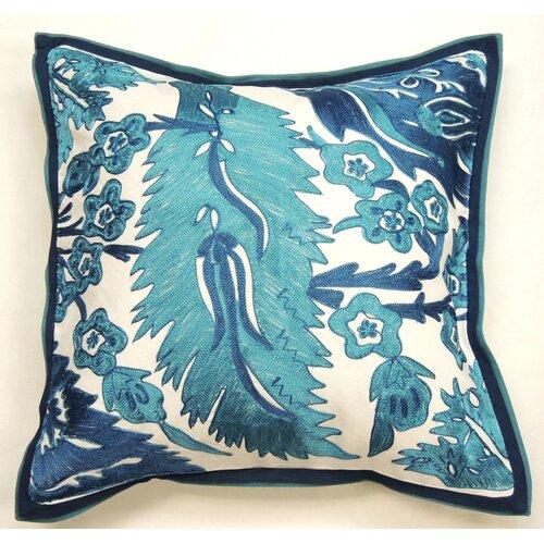 Amity Home Abriana Silk and Cotton Decorative Pillow