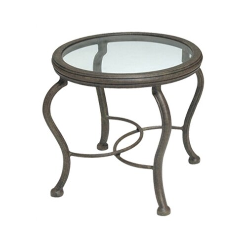 Old Gate Round End Table