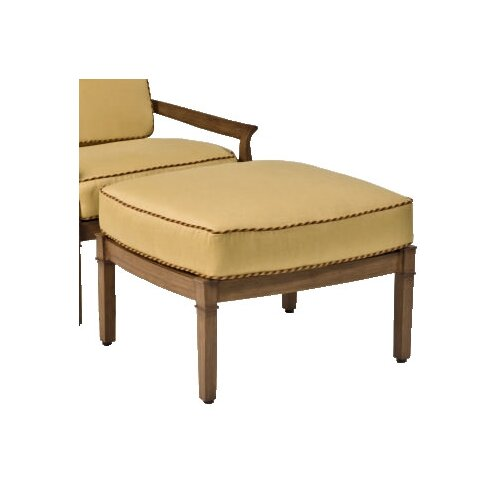 Woodard Landgrave Vienna Ottoman with Cushion