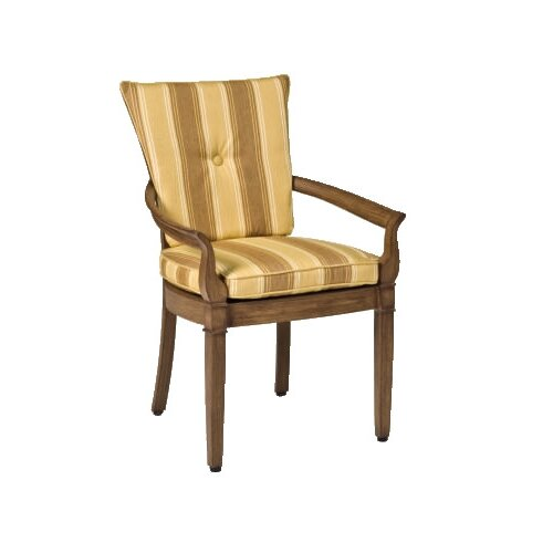 Woodard Landgrave Vienna Dining Arm Chair with Cushions