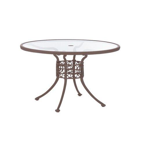 "Woodard Landgrave Chateau 48"" Round Umbrella Table"
