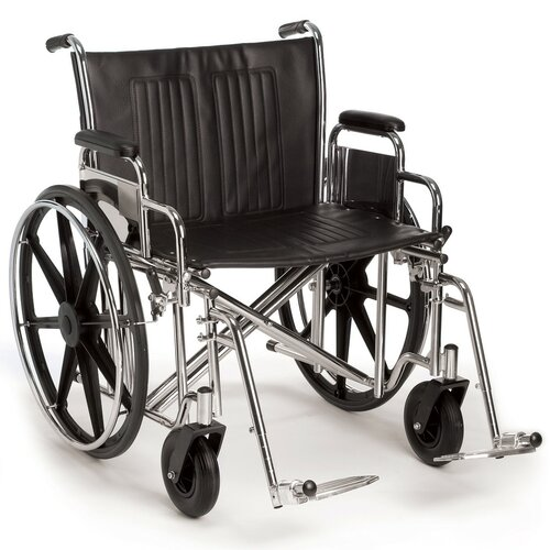 Sunrise Medical Breezy EC 2000HD Heavy-Duty and Extra Wide Bariatric Wheelchair