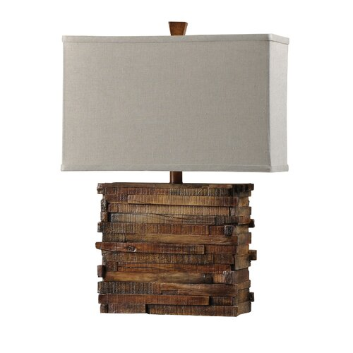 Style craft restoration 23 25 quot h table lamp with