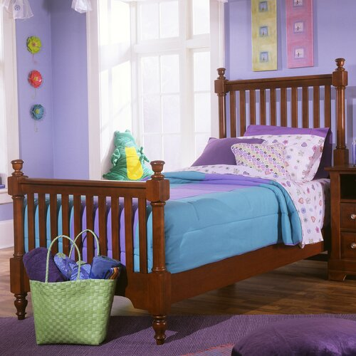 Vaughan-Bassett Cottage Slat Youth Bed